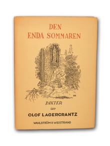 Lagercrantz, Olof: Den enda sommaren. Dikter.