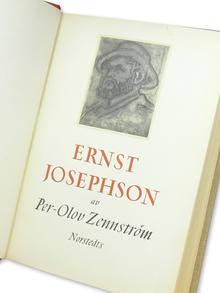 (Josephson, Ernst) - Zennström, Per-Olov: Ernst Josephson. En studie.