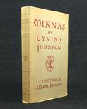 Johnson, Eyvind: Minnas