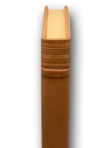 Theokritos: Theokritos' Idyller. Översatta av Erland Lagerlöf. Med raderingar av Jurgen Wrangel.