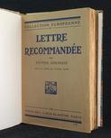 Johnson, Eyvind: Lettre recommandée