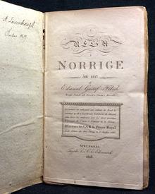 Fölsch, Edward Gustaf: Resa i Norrige år 1817.