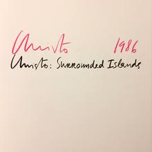 (Christo) (b. 1935) - David Bourdon & Jonathan Fineberg & Janet Mulholland | Wolfgang Volz (photographs): Christo: Surrounded Islands. Biscayne Bay, Greater Miami, Florida, 1980-83.