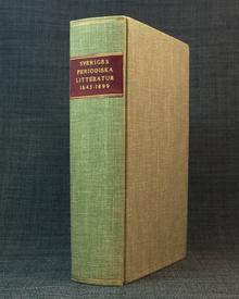 Lundstedt, Bernhard: Sveriges periodiska litteratur. Bibliografi enligt Publicistklubbens uppdrag utarbetad. [...] 1645-1899. 1-3.