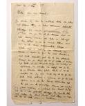 Martinson: Egenhändigt brev, 1929