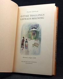 Cederborgh, Fredrik | Ekelöf, Gunnar (efterskrift): Ottar Trallings lefnads-målning. Ur Enke-Prostinnan Skarps gömmor benäget meddelad.