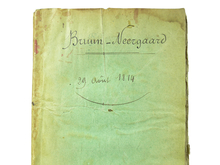Regnault-Delalande, François-Léandre (1762-1824): Catalogue raisonné de gouaches et de dessins, du cabinet de Mr. Bruun-Neergaard, gentilhomme de la chambre du roi de Danemarck. Par F.-L. Regnault-Delalande, peintre et graveur.