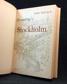 Sadolin, Ebbe: På vandring i Stockholm.