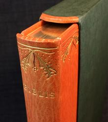 Lindberg, Sten G. (red.): Biblis. Årsbok utgiven av Föreningen för bokhantverk 1963-1964. Jugend i svensk bokkonst.