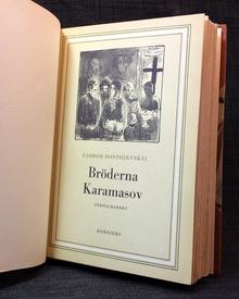 Dostojevskij, Fjodor: Bröderna Karamasov. 1-3.
