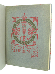 Nordensvan, Georg: Konstnärsklubben 1856-1906.