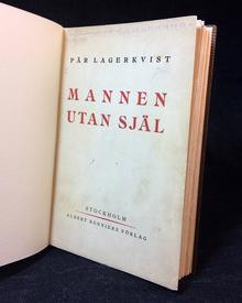 Lagerkvist, Pär: Mannen utan själ. Skådespel i fem akter.