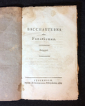 Stagnelius: Bacchanterna