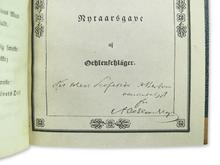 Oehlenschläger, Adam: Norgesreisen. En Digtekrands. [Sammanbunden med:] Fyensreisen. Nytaarsgave. / Fyensreisen. Digtekrands.