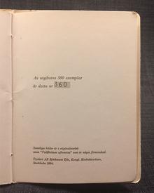 Josephson, Ernst (Stockholm 1851-1906) & Erik Gustaf Geijer: Tolv teckningar av Ernst Josephson till dikter av Erik Gustaf Geijer. Med hälsning från Galerie Pierre julen 1964.
