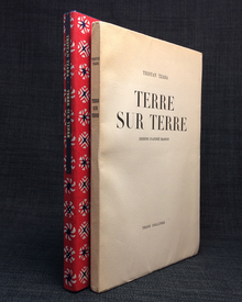 Tzara, Tristan (1896-1963) & André Masson (1896-1987): Terre sur terre. Dessins d'André Masson.