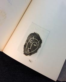 Söderberg, Lasse | Ragnar von Holten (illustr.): Anteckningar till ett eko. Till Paul Andersson.