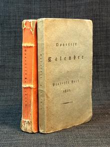Almquist, Carl Jonas Love, m. fl.   Dahlgren, Carl Fredric (utg.): Opoetisk calender för poetiskt folk. 1822. 1 (Winterhäftet)-2 (Sommarhäftet).