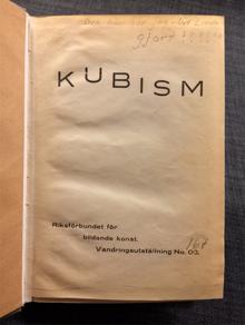 Linde, Ulf: Kubism.