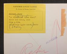 Jean Bazaine: Fernand Léger. Peintures antérieures a 1940.