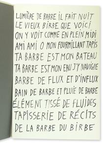 Dubuffet, Jean (1901-1985): La Fleur de Barbe.
