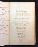 Manuscript catalogue