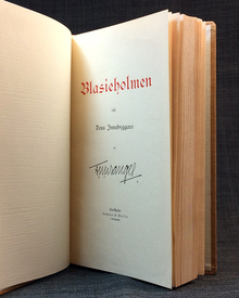 Wrangel, Fredrik Ulrik: Blasieholmen och dess innebyggare.