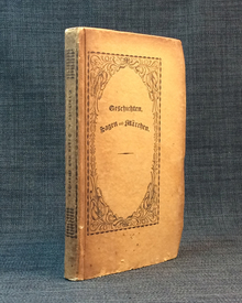 Hoffmann, E. T. A., and others: Geschichten, Sagen und Märchen. Von Fr. H. v. d. Hagen, E. T. A. Hoffmann und Henrich Steffens.