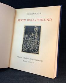 (Hedlund, Bertil Bull) - Nils Lindgren: Bertil Bull Hedlund.