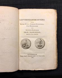 [Nordin, Carl Gustaf]: Minnen af svenske herrar och män. 1-2.