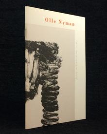 (Nyman, Olle) (Saltsjö-Duvnäs 1909-1999) - Hans Eklund: Olle Nyman. Skulpturer, teckningar, textilier m.m. Utkast.