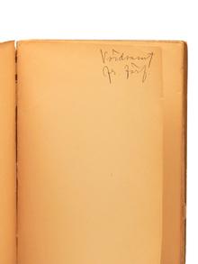 Lagerkvist, Pär: Ordkonst och bildkonst. Om modärn skönlitteraturs dekadans. Om den modärna konstens vitalitet. Med ett förord av August Brunius.