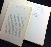Johnson, Eyvind: Strändernas svall. En roman om det närvarande.