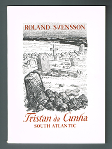 Svensson, Roland: Tristan da Cunha. South Atlantic.