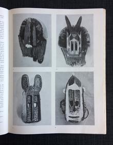(African Art) Minotaure no 2. Revue littéraire et artistique. Mission Dakar-Djibouti 1931-1933.
