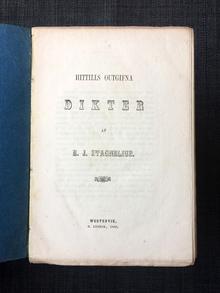 Stagnelius, Erik Johan | Rydström, Carl (utg.): Hittills outgifna dikter.