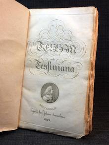 [Ehrenheim, Fredrik Wilhelm von]: Tessin och Tessiniana. Biographie med anecdoter och reflexioner, samlade utur framledne riks-rådet m.m. grefve C. G. Tessins egenhändiga manuscripter.