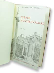 Svensk konstkavalkad. Liljevalchs konsthall 1916-1956. Jubileumsutställning. Katalog nr 221.