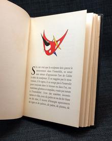 (Calder, Alexander) (1898-1976): Alexander Calder. Mobiles, stabiles, constellations. / Exposition du 25 Octobre au 16 Novembre 1946.