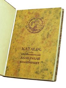 Katalog över Konstföreningens i Åbo samlingar.