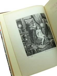 Flaubert, Gustave: November. Roman. Med illustrationer av Bertil Bull Hedlund. Översättning av Gunnar och Nun Ekelöf. Introduktion av Knut Jaensson.