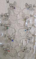 Grå med halshänge av glas flerpack