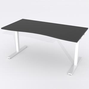 Schreibtisch Ursagad Elektrisch 180x82 HP Laminat Schwarz