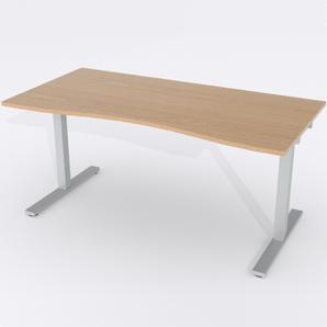 Skrivbord Ursågad Manuell 164x82 cm Ekfanér
