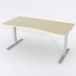 Schreibtisch Ursagad Elektrisch 180x82 Furnier Birke