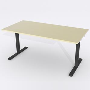 Skrivbord Rektangulär Manuell 180x80 cm Björkfanér