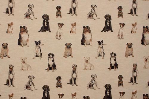 Metervara, Tyger & textilier - Hundar