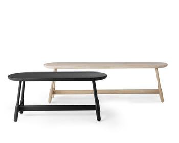 Massproductions Albert bänk, 110 cm