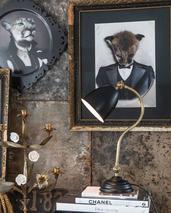 Skrivbordslampa  Atos-svart
