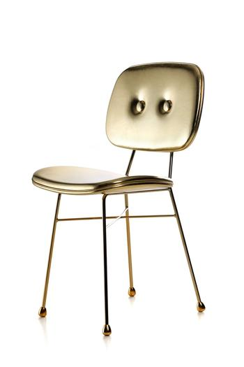 Moooi-The golden chair